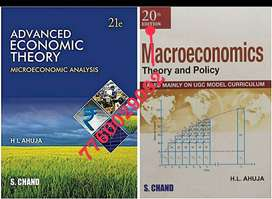 Economics books... Micro and macro