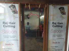 I want sell my newly Saloon shop