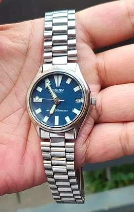 Jam SEIKO 6309 Mod Diver Blue Automatic ORIGINAL