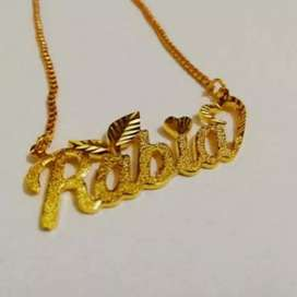 1k Goldplated Name Locket