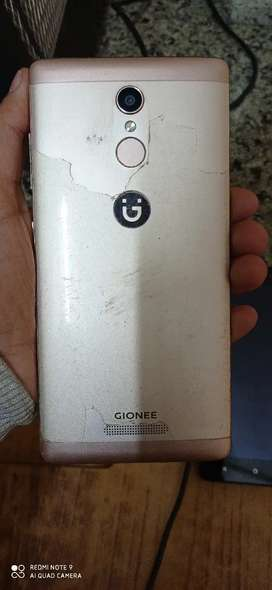 Gionee 5 g white nd golden clr