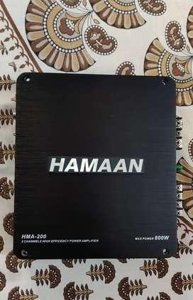 Hamaan 2 CH Amplifier (HMA 200)