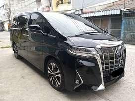 Toyota Alphard Tipe G ATPM Automatic Tahun 2018 ( Km 13ribu )