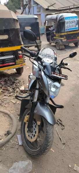 Suzuki gixxer with discbrake