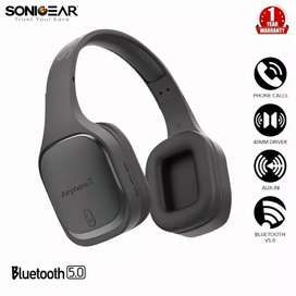 SonicGear Airphone 7 Bluetooth Headphones With Mic