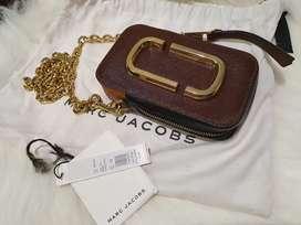 Preloved MJ marc jacobs hot shot snapshot authentic second bag asli