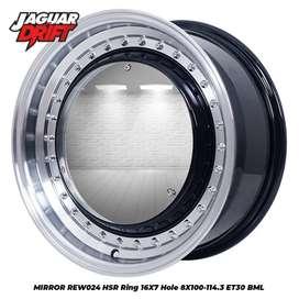 Velg mobil mojokerto hsr mirror ring 16 inch bisa buat brio, Jazzrs