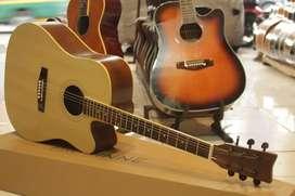 Gitar akustik jumbo string