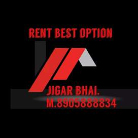 Furnished property one bhk for family