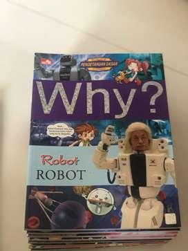 """Ingin tanbah Ilmu buku """"WHY"""" dan jawabannya"""
