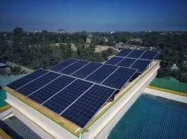 Rooftop solar under manireda 70%