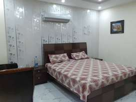 One bed room luxury furnished flat for rent in bharia town lahore