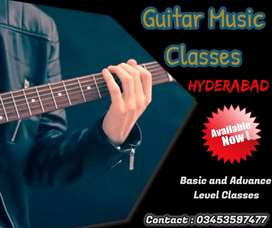 Guitar classes  in 3 months