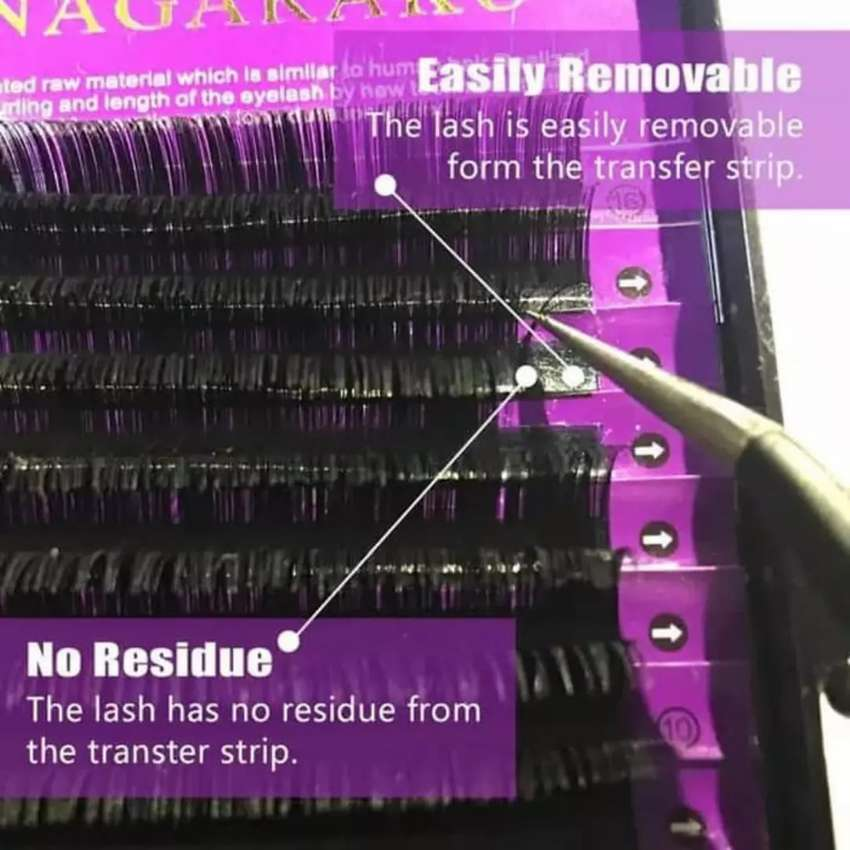 BEST SELLER Nagaraku mink lash single size - eyelash extension 0
