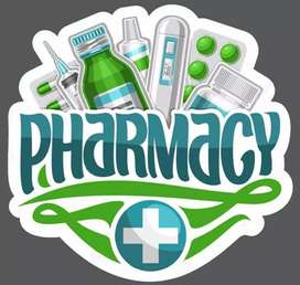I need staff for medical store.(saleman)