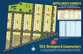 VSS DEVELOPERS & CONSTRUCTIONS SQ Yd 6500/- ONLY BESIDE SAKSHI OFFICE