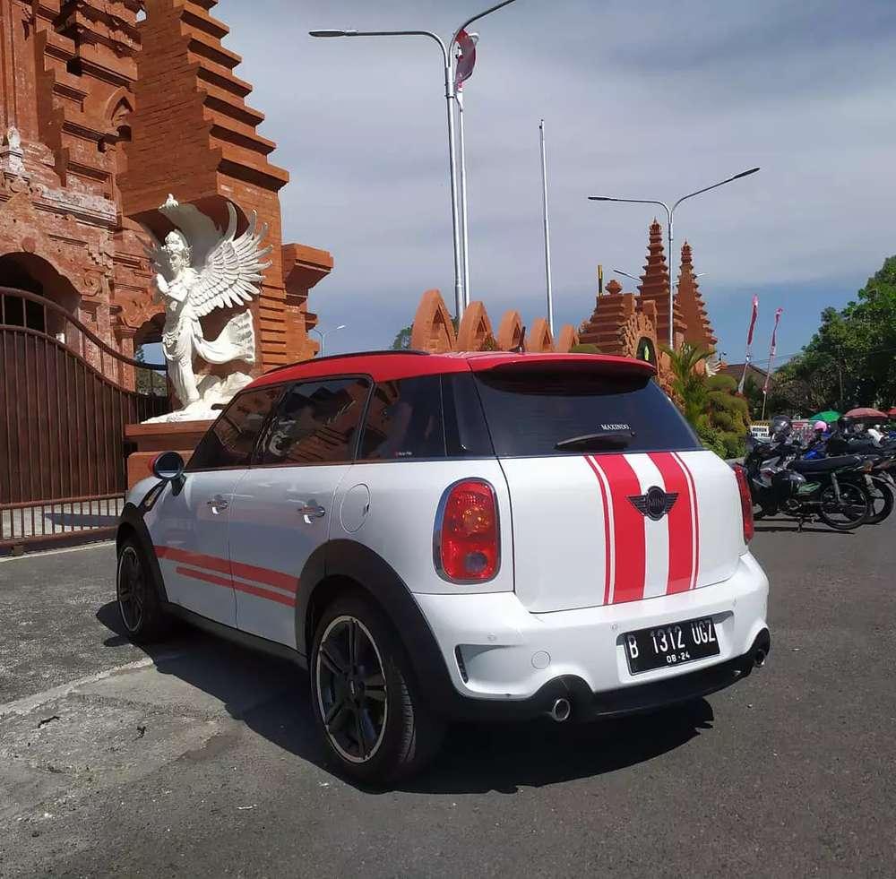 Mini Cooper Countryman 2012 AT Putih Sangat Terawat Like New Denpasar Selatan 429 Juta