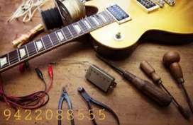 Guitar repair and servicing. All types of guitars.