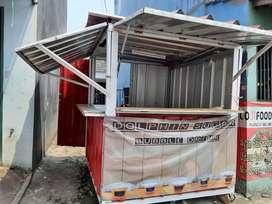 Dijual booth container murah