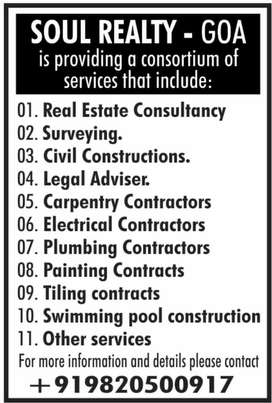 Contracts, home repairs, construction