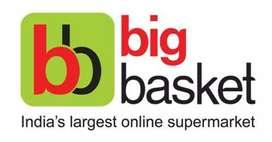 Grocery items delivered for big basket