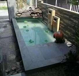 Kolam ikan koi/kolam minimalis