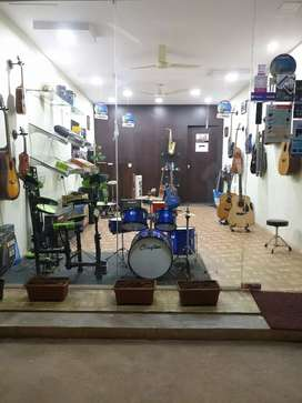 Running music instruments store for sale