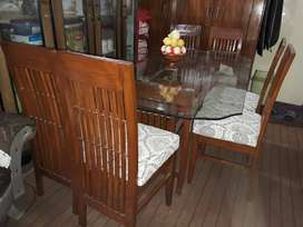 Dinning table all new.