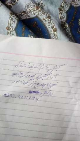 Worker require for cattle and goat farm tattapani AK