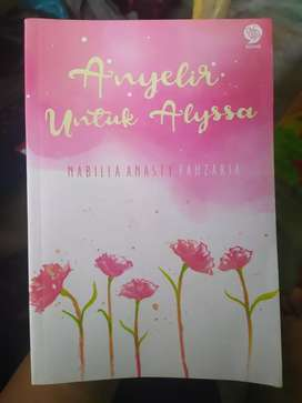 Buku Novel Anyelir untuk Alyssa