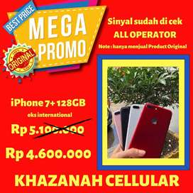 Iphone 7+ 128GB Second inter *Black & Red