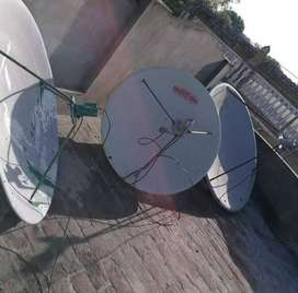 Dish antenna Pakistani dish new connection