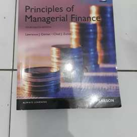 PRINCPLES OF MANAGERIAL FINANCE