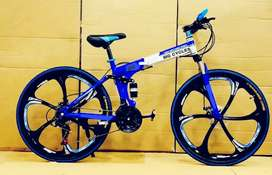 NEW 6 MAC WHEEL 21 GEARS  FOLDING CYCLE AVAILABLE