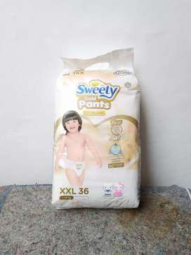 Popok sweety gold pants ukuran XXL