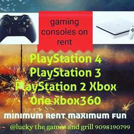 Games on rent