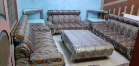 9 Seater Drawing Room Sofa Set Complete
