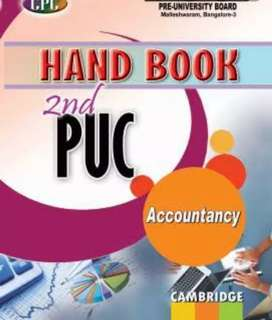 2nd puc Accountancy Hand book