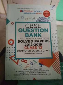 Oswaal books CBSE question bank class 12