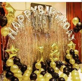 Birthday party Decoration Varieties Available Happy Birthday Foil