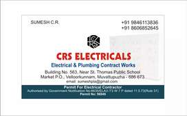 Electrical plumbing work sqft 40-60 Rate