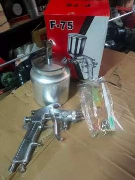 Spray Gun F-75 Tabung Bawah