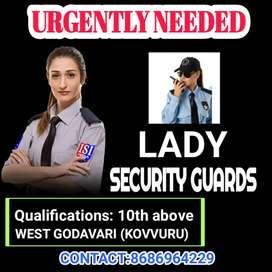 Security guards  women