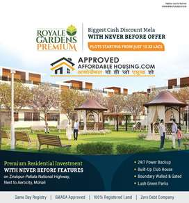 WHY TO OWN A PLOT IN DERABASSI WHEN YOU CAN GET SAME RATE IN MOHALI