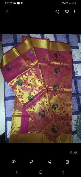 Pure Kanchi Silk saree from Neerus