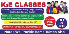 Home tuition and online classes