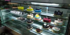 Display counter for bakery