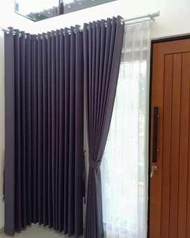Desain gorden gordyn hordeng tirai curtain terlengkap termurah awet