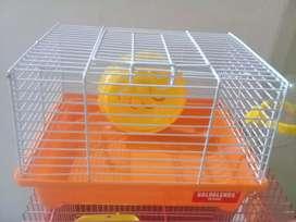 Kandang Hamster ukuran Sedang