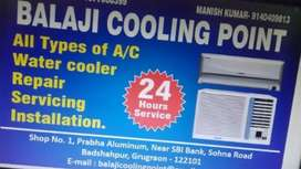 AC type AC  repair installation and by or sell